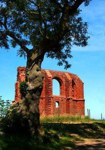 Trzęsacz - ruiny kościoła